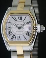 Pre-Owned CARTIER ROADSTER LARGE 18KT/STEEL