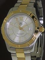 Pre-Owned TAG HEUER AQUARACER QUARTZ GOLD/STEEL