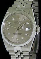 Pre-Owned ROLEX DATEJUST ALL STEEL CASE/BAND