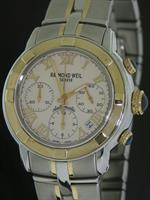 Pre-Owned RAYMOND WEIL PARSIFAL AUTO 2-TONE CHRONO