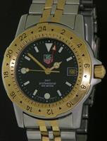 Pre-Owned TAG HEUER DIVERS 1500 GMT SPECKLE DIAL