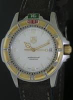 Pre-Owned TAG HEUER 4000 PROFESSIONAL TWO TONE