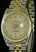 Pre-Owned ROLEX OYSTER PERPETUAL DATE 14KT/SS