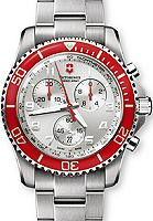 Pre-Owned VICTORINOX SWISS ARMY MAVERICK GS CHRONO RED