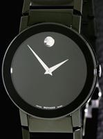 Pre-Owned MOVADO SAPPHIRE ALL BLACK