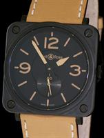 Pre-Owned BELL & ROSS BRS HERITAGE 39MM CERAMIC