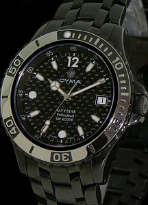 Pre-Owned CYMA ALL BLACK NAVY STAR 100M