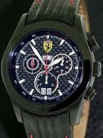 Pre-Owned FERRARI CARBON PADDOCK CHRONOGRAPH