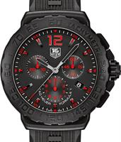 Pre-Owned TAG HEUER FORMULA 1 BLACK/RED