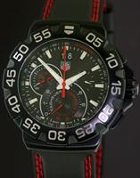 Pre-Owned TAG HEUER FORMULA 1 BLACK AND RED