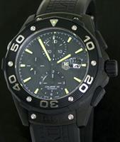 Pre-Owned TAG HEUER AQUARACER 500M CHRONOGRAPH PVD