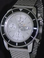 Pre-Owned BREITLING SUPEROCEAN HERITAGE SILVER