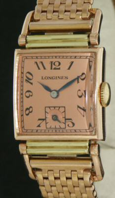 Pre-Owned LONGINES ROSE GOLD FILLED