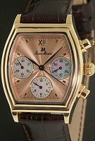 Pre-Owned JEAN MARCEL 18KT ROSE GOLD COPPER DIAL