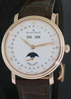 Pre-Owned BLANCPAIN VILLERET TRIPLE DATE MOON 18KT