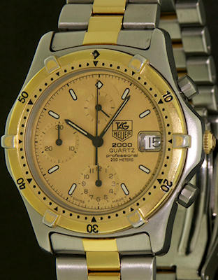 Pre-Owned TAG HEUER ORIGINAL 2000 CHRONOGRAPH