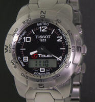 Pre-Owned TISSOT STEEL T-TOUCH BLACK