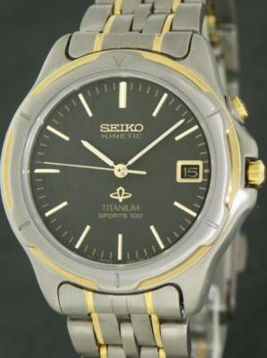 Seiko Kinetic Titanium 273-10359 - Pre-Owned Mens Watches 2a6bc3f6d
