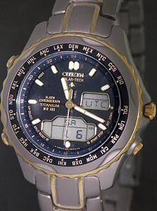 Pre-Owned CITIZEN WORLD TIME TITANIUM