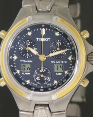Pre-Owned TISSOT ANALOG/DIGITAL CHRONO