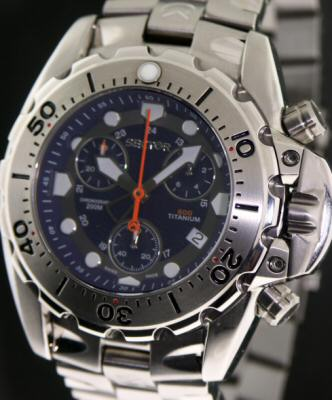 Sector 600 Titanium 273 10531 Pre Owned Mens Watches