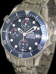 Pre-Owned OMEGA SEAMASTER CHRONO 007 BOND