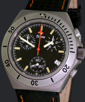 Pre-Owned TUTIMA TITANIUM PACIFIC CHRONOGRAPH