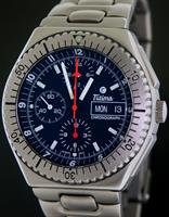 Pre-Owned TUTIMA NATO AIR FORCE TL ALL TITANIUM