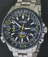 Pre-Owned CITIZEN BLUE ANGELS TITANIUM