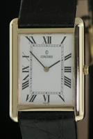 Pre-Owned CONCORD 14KT GOLD WHITE ROMAN DIAL