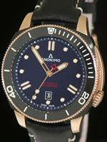 Pre-Owned ANONIMO NAUTILO BRONZE AND DLC BLUE
