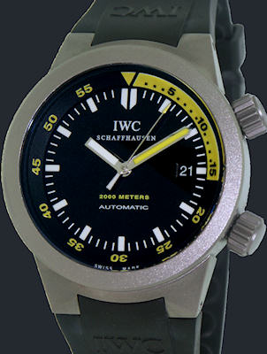 Pre-Owned I W C AQUATIMER AUTOMATIC 2000 TITAN