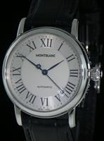 Pre-Owned MONTBLANC STAR AUTOMATIC SILVER DIAL