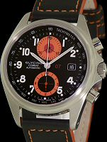 Pre-Owned GLYCINE COMBAT 07 CHRONO ORANGE
