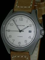 Pre-Owned GLYCINE COMBAT 7 WHITE DIAL GRAY CASE