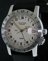 Pre-Owned GLYCINE AIRMAN 1953 VINTAGE LIMITED ED