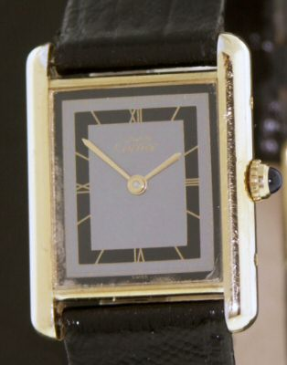 Pre-Owned CARTIER DE MUST VERMEIL