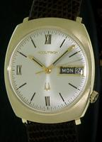 Pre-Owned ACCUTRON 14KT GOLD CASE 218 MOVEMENT