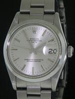 Pre-Owned ROLEX SILVER DIAL DATE CHRONOMETER