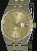 Pre-Owned ROLEX DATEJUST OYSTERQUARTZ 18KT/SS