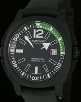 Pre-Owned JEANRICHARD DIVERSCOPE BLACK/GREEN