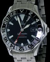 Pre-Owned OMEGA SEAMASTER GMT 50TH ANNIVERSARY