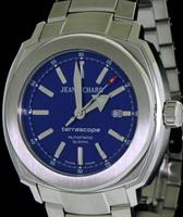 Pre-Owned JEANRICHARD ROYAL BLUE DIAL TERRASCOPE