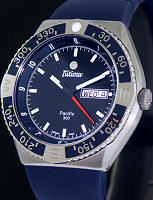 Pre-Owned TUTIMA PACIFIC 300 DIVER BLUE