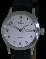 Pre-Owned TUTIMA FX AUTOMATIC DATE-DAY WHITE