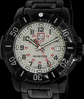 Pre-Owned LUMINOX NAVY SEALS BLACK STEEL CARBON