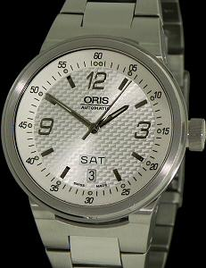 Pre-Owned ORIS WILLIAMS F1 SILVER DIAL