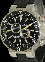 Pre-Owned ORIS DIVERS TITANIUM REGULATOR