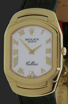 Pre-Owned ROLEX CELLINI 18KT GOLD QUARTZ