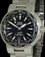 Pre-Owned ORIS ORIS DIVERS GMT